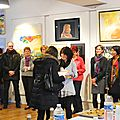 Clémence Caruana - Expo collective BARAQUEVILLE Avril 2015