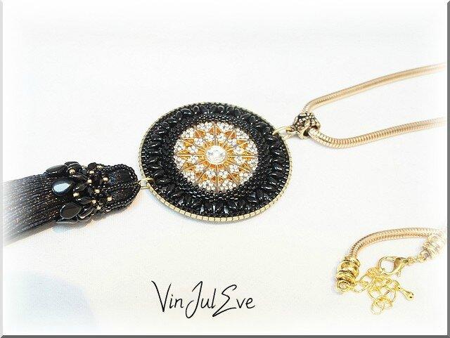 collier Sabi noir1