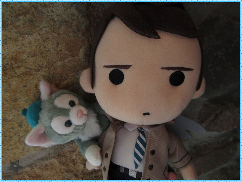 Little Castiel et Gelatoni