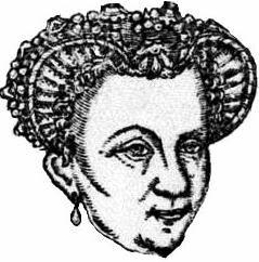 Anne d'Este duchesse de Guise et de Nemours vers 1570