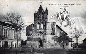 cartes_postales_photos_L_Eglise_PLAISANCE_DU_TOUCH