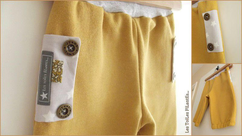 09-Tee-shirt couronne et pantacourt moutarde3