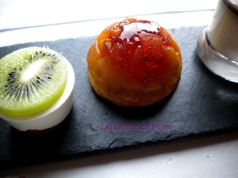 Mini cheesecakes citron et kiwi sans cuisson 4