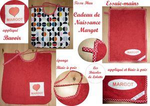 Cadeau de naissance Margot copie