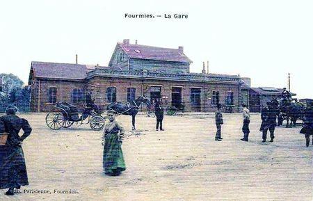 FOURMIES-La Gare