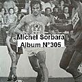 62 - sorbara michel - n°305 - spécial forza bastia