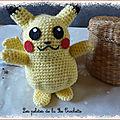 Pikachu crochet