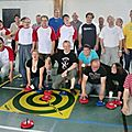 initiation au curling et petit palet