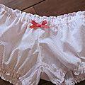 Culotte blanche à petites points rouge (1)