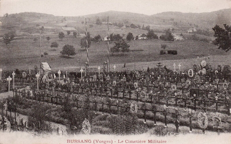 Bussang, cimetière militaire