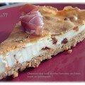 Kkvkvk 12: cheesecake salé ricotta/tomates séchées sur base au parmesan