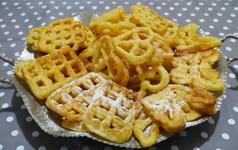 beignets au fer à beignets, fenêtes du paradis ( taquett el janna )02