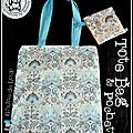 Tote bag (ou sac «fourre tout») marin ...