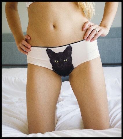 l avant gardiste culotte chat 2