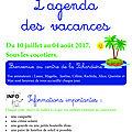 Le programme detaille de l'accueil de loisirs de juillet de neuville en téléchargement