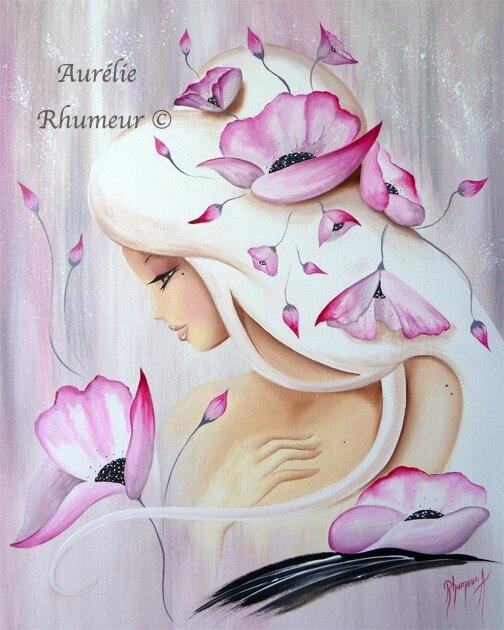 Lilou perle rose poudrée