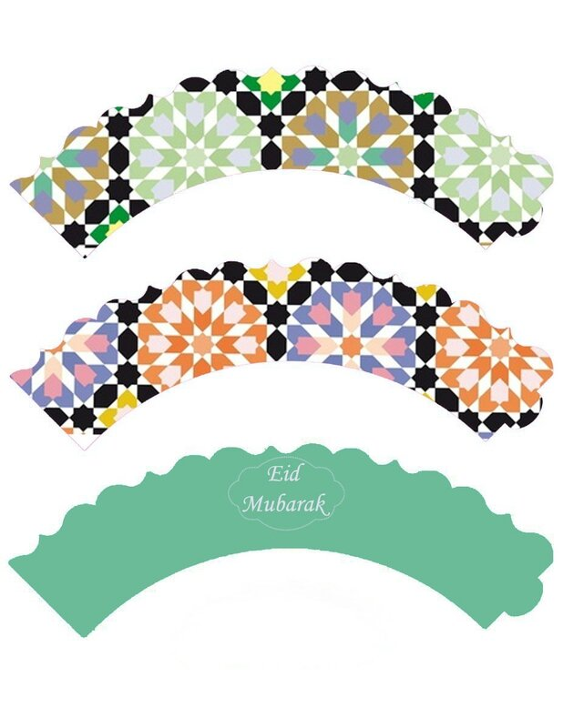 cupcake wrappers mosaique 3