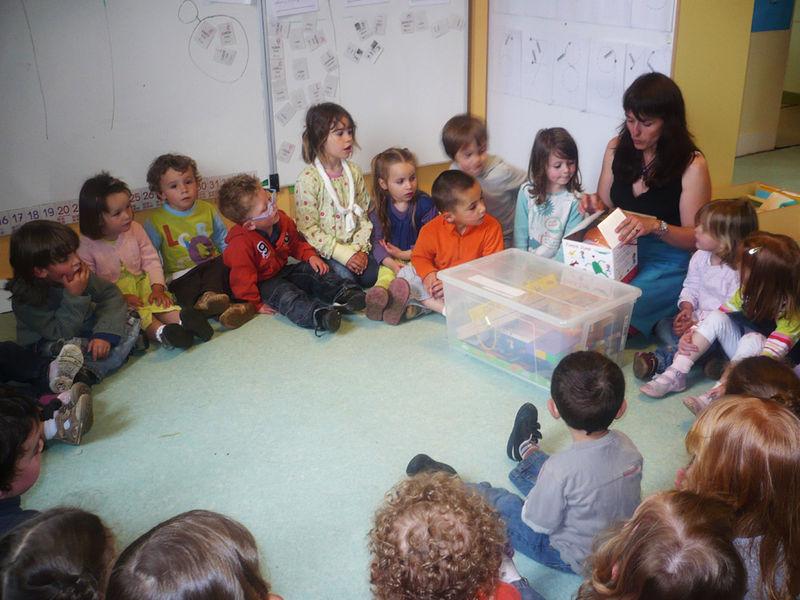 CAVAN jeudi 27 mai - Classe maternelle bilingue
