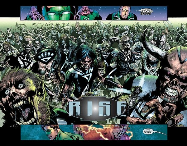 blackest night rise