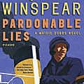 Pardonable lies, de jacqueline winspear