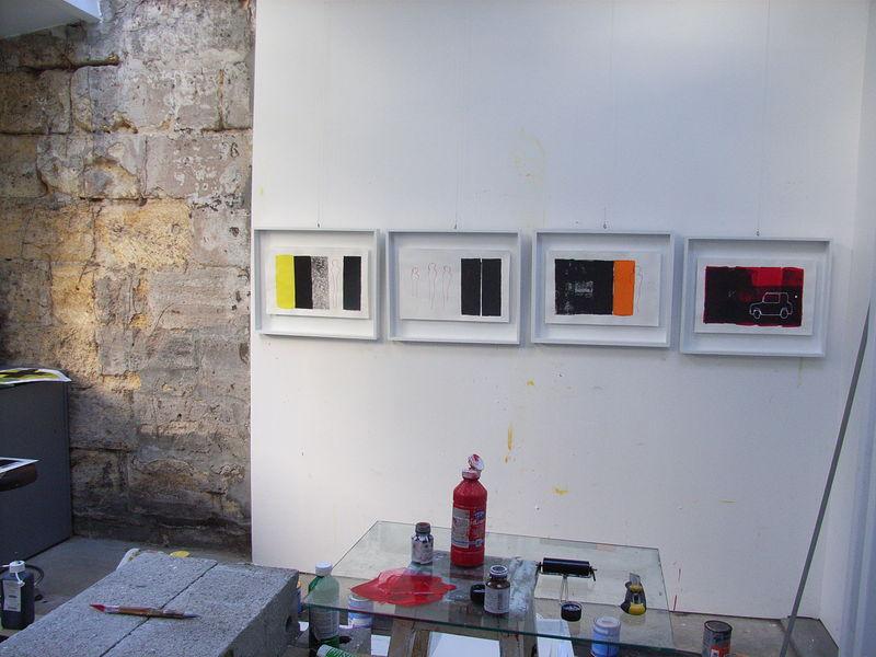 Gravures - atelier bordeaux - 2007