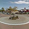 Rond-point à centennial park (australie)