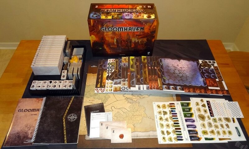 Gloomhaven-components