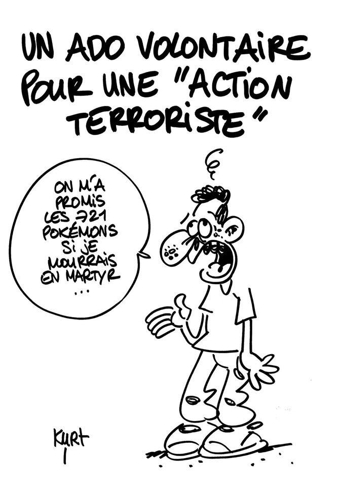 islam humour terroriste