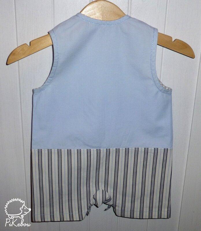 pikebou barboteuse couture pour garcons 4