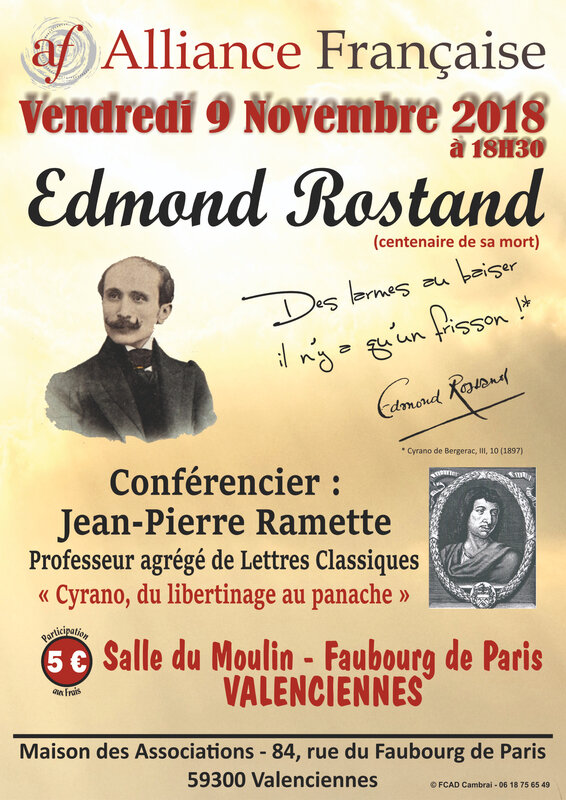 affiche rostand 2018
