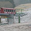 Premières neiges au mont-dore 1200 m