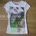 Abbey Dawn Halftone Pop Face Tee