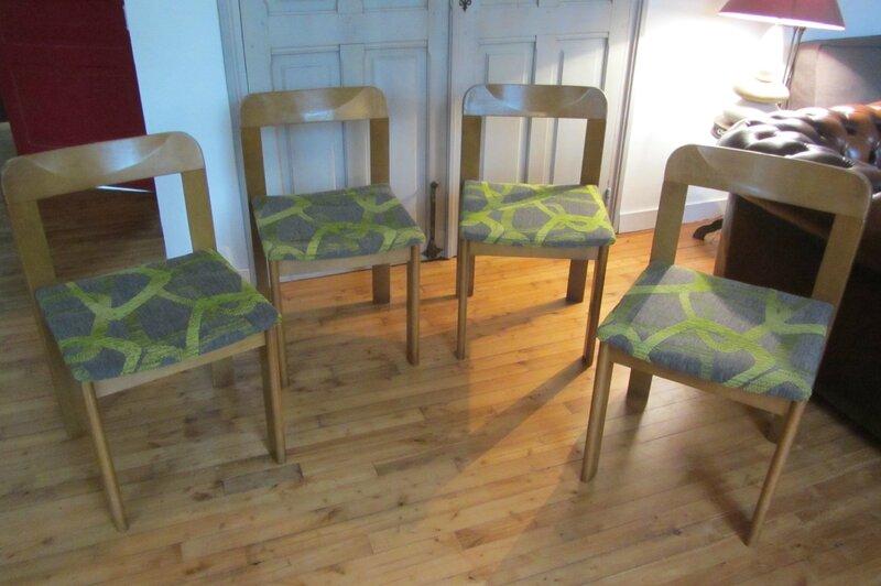 refaire des galettes de chaise tapissier à Bohars