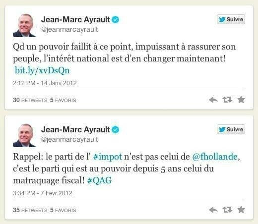 ps ayrault humour hollande