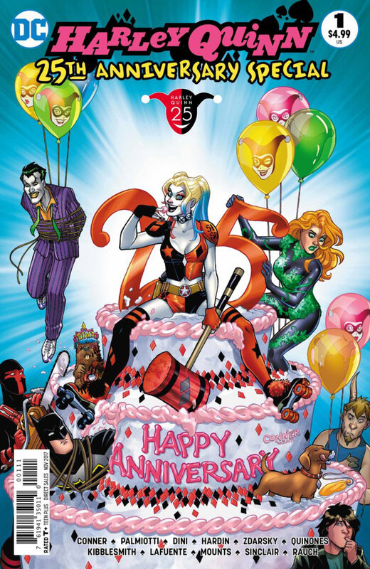 rebirth harley quinn 25th anniversary special