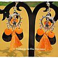 BO Porquerolles orange noir