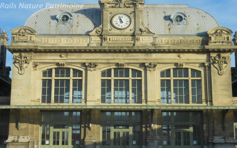 Saint OMER, une gare bien dans sa ville,