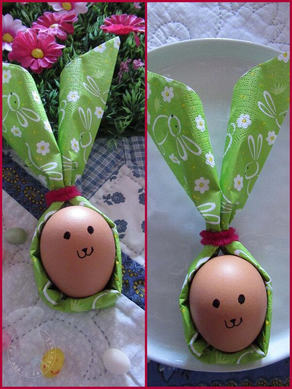 Le lapin de Pâques (tête)