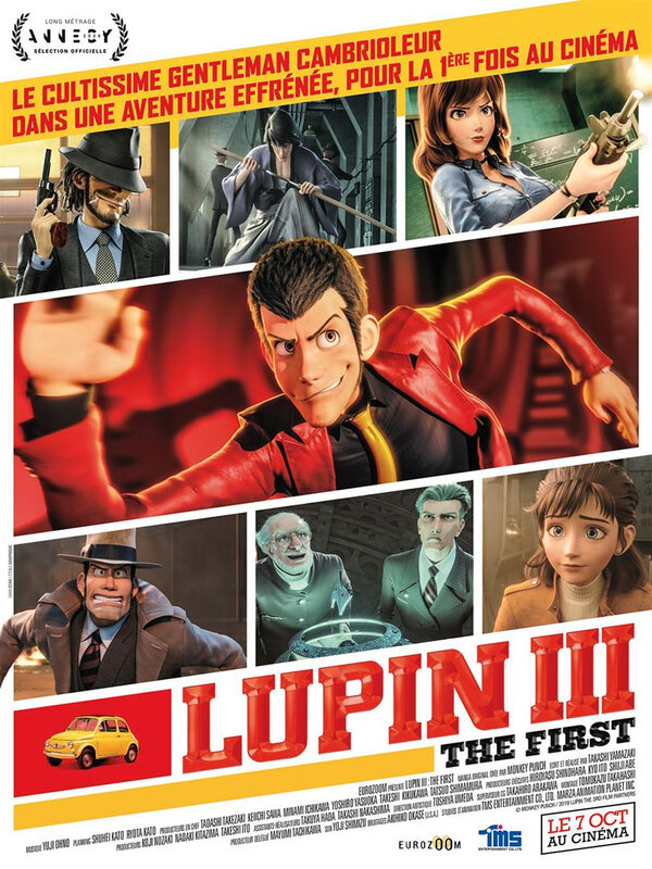 Lupin III Affiche