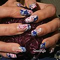 Nail art la France a un incroyable talent les Devoirs de Nita Crocongle1