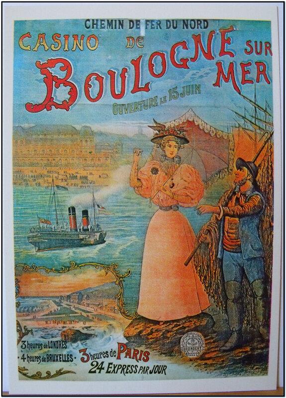 Chemins de fer du nord Boulogne sur Mer - casino ouverture