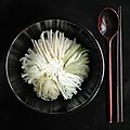 Recette de voeux : bibimbap blanc de nouvel an