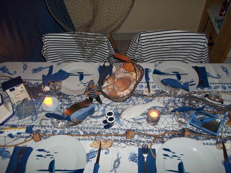 TABLE DE MARIN LA NUIT