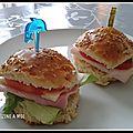 Minis burgers