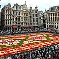 Thảm hoa ở bruxelles