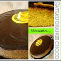 Gateau orange choco