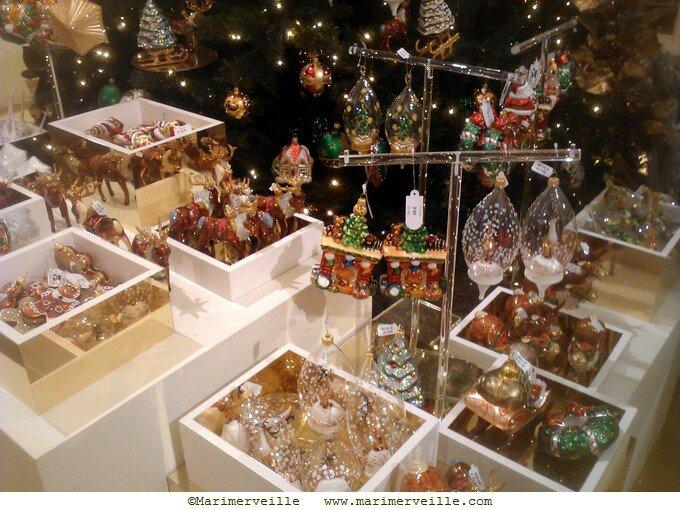 Décoration de Noël forêt - le bon marché -Marimerveille