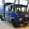 MERCEDES BENZ L409 double cabine baché 1979 Stuttgart (1)