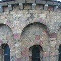 Detail de l'eglise de Saint Alban sur Limagnole