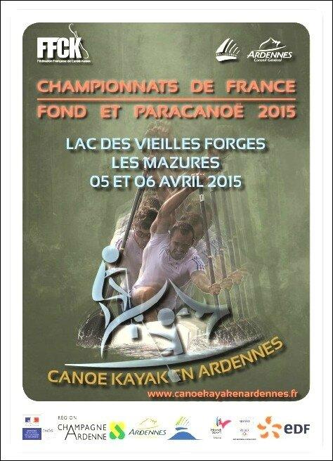 Affiche CF Fond et Paracanoë 2015